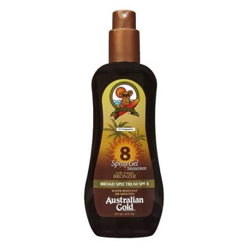 foto AUSTRALIAN BRONCEADOR F8 SPRAY GEL 237ML