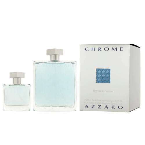 foto AZZARO CHROME EDT MASCULINO 200ML +30ML