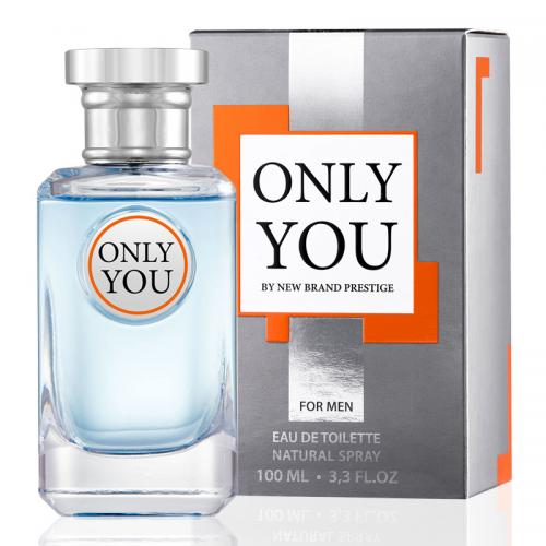 foto NEW BRAND ONLY YOU EDT MASCULINO 100ML