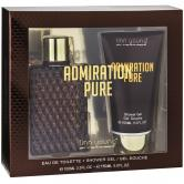 ADNIRATION PURE MASCULINO 100ML +GEL DE DUCHA 150ML