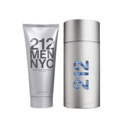 foto CAROLINA HERRERA 212 MEN 100ML KIT