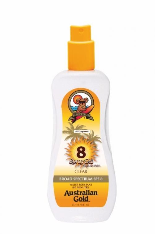 foto AUSTRALIAN GOLD SPRAY GEL SUNSCREEN SPF8 237ML