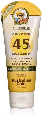 AUSTRALIAN GOLD PROTECTOR FACIAL FACE SPF45 88ML