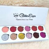 RAINBOW UNICORN 12 PAN PALETTE GLITTER EYES 396578