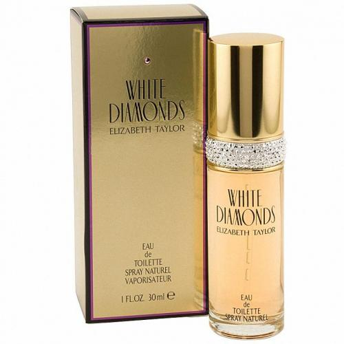 foto ELIZABETH TAYLOR WHITE DAIMONDS EDT FEMENINO 30ML
