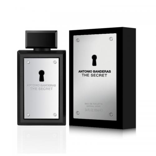 foto ANTONIO BANDERAS THE SECRET EDT MASCULINO 100ML