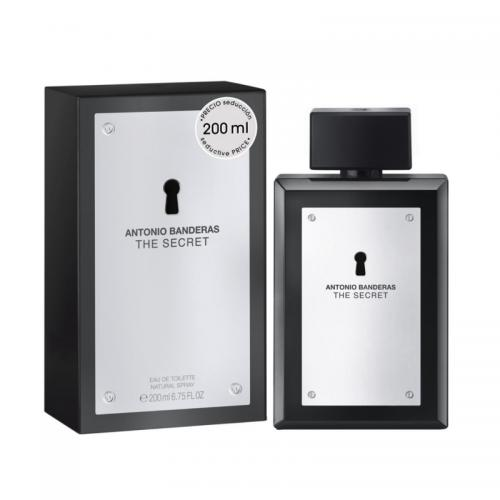 foto ANTONIO BANDERAS THE SECRET EDT MASCULINO 200ML