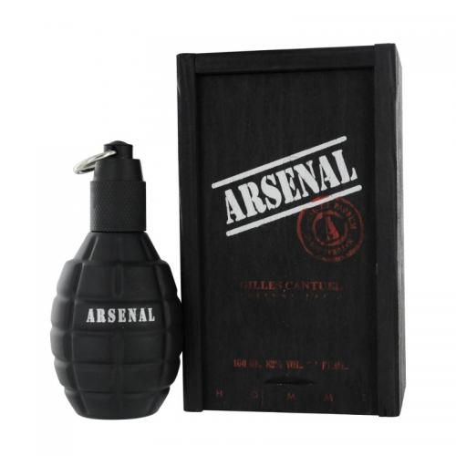 foto ARSENAL BLACK EDP MASCULINO 100ML